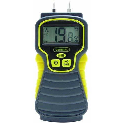 Buy digital moisture meter general tools at busy bee tools for Wood floor moisture meter